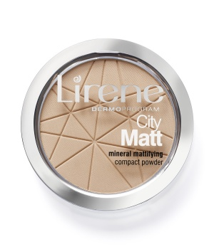 City Matt Mineral mattifying powder 02 - natural