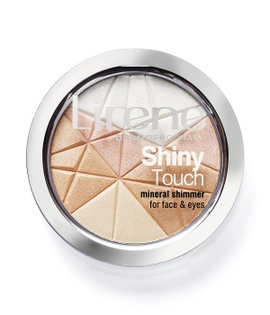 Shiny Touch Mineral shimmer for face and eyes