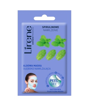 SPIRULINA MOISTURIZING Deep moisturizing algae mask - peel off