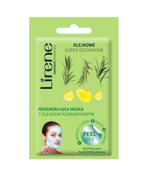 OIL SUPER NUTRITION Rosemary oil regenerating mask - peel off