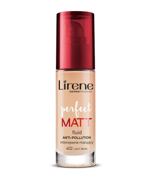Perfect Matt foundation - intensively mattifying LIGHT BEIGE 402