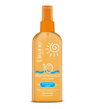 SUN PROTECTION carotene body oil SPF 10