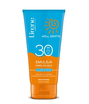 Moisturizing emulsion for irritations SPF 30 BY FREE +25ml