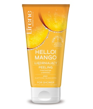 HELLO! MANGO Firming body peeling for shower