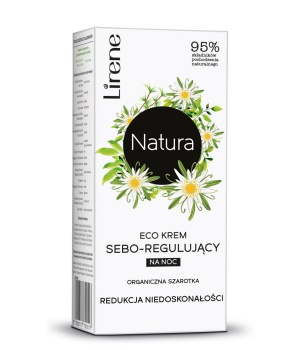 ECO CREAM SEBO-REGULATING for night REDUCTION OF IMPERFECTIONS
