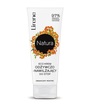 ECO Nourishing and moisturizing cream to the feet