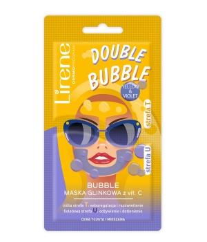 BUBBLE mask with vit. C Oily and combination skin