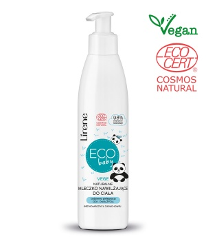 Eco baby NATURAL MOISTURIZING BODY LOTION