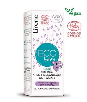 Eco baby NATURAL FACE CREAM
