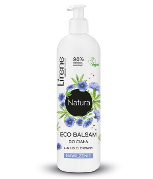 ECO BODY LOTION FLAX & HEMP OIL