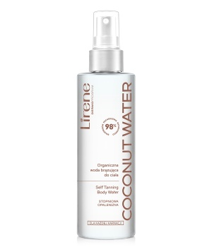SELF-TANNING BODY WATER COCONUT WATER