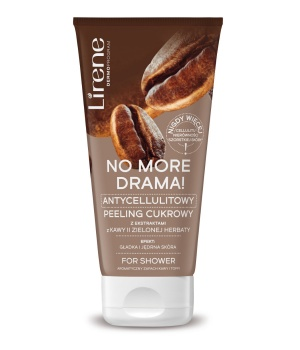 NO MORE DRAMA! ANTI-CELLULITE BODY PEELING