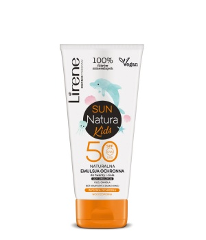 Natural protective emulsion for the face and body from 1 day of life SPF 50 UVA UVB