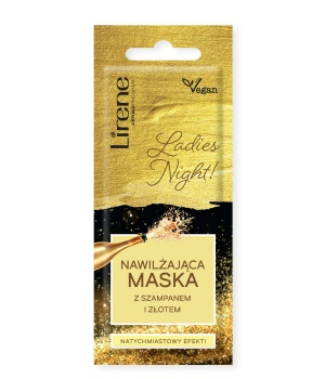 LADIES NIGHT! Moisturizing mask with champagne and gold
