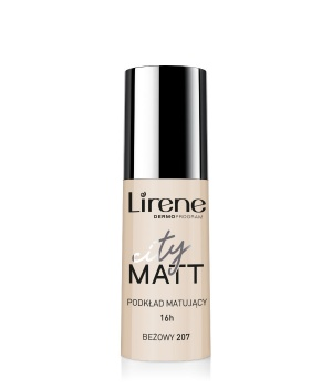 CITY MATT – Mattifying and Smoothing Fluid Foundation – beige 207