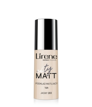 CITY MATT – Mattifying and Smoothing Fluid Foundation – light 203