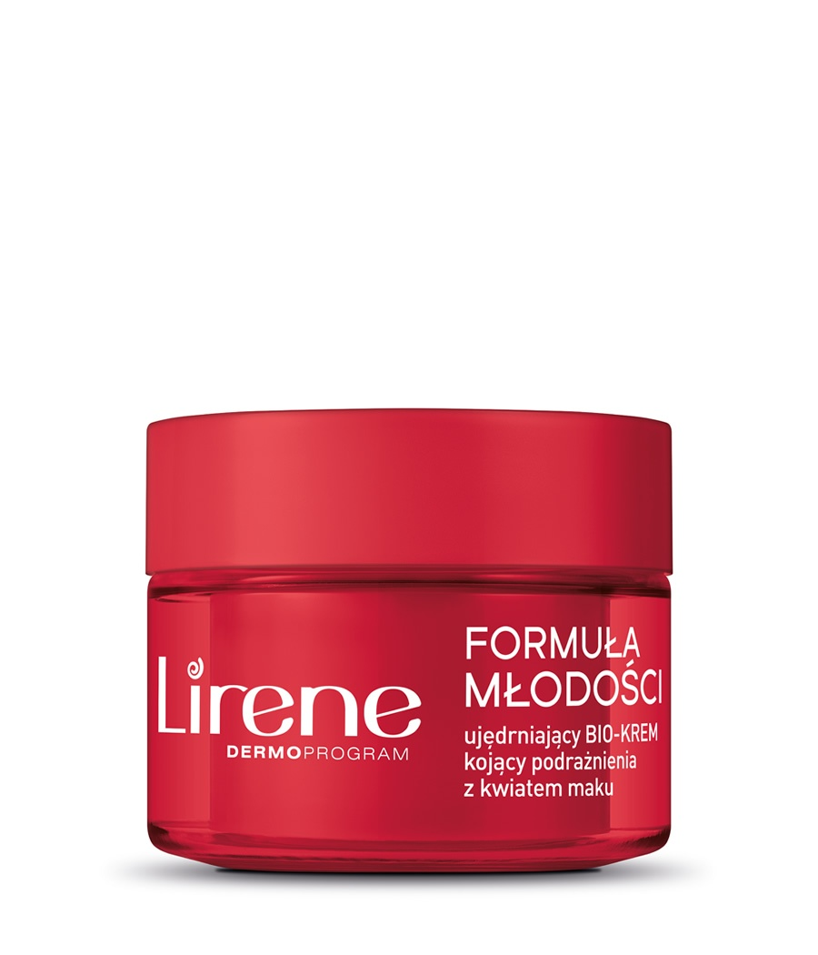 Firming cream soothing irritation with poppy flower DRY AND SENSITIVE SKIN