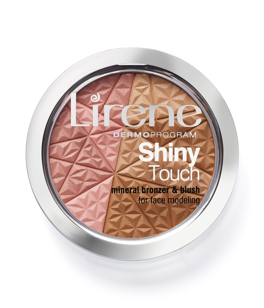Shiny Touch Mineral bronzer and blush for face modeling