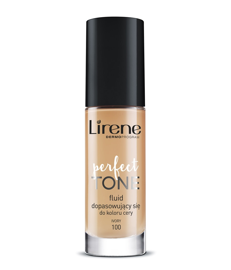 Perfect Tone foundation - perfectly adapts to the complexion IVORY 100