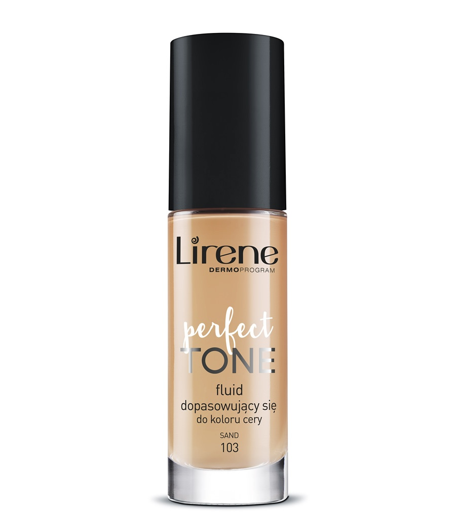 Perfect Tone foundation - perfectly adapts to the complexion SAND 103