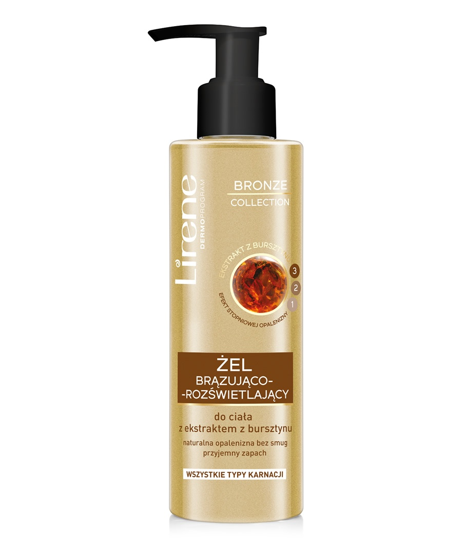 ILLUMINATING AND BRONZING BODY GEL