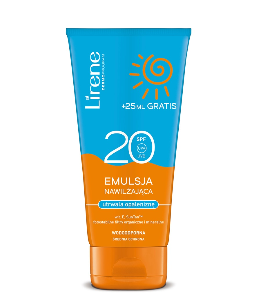 Photostable sun protection lotion SPF20 BY FREE +25ml