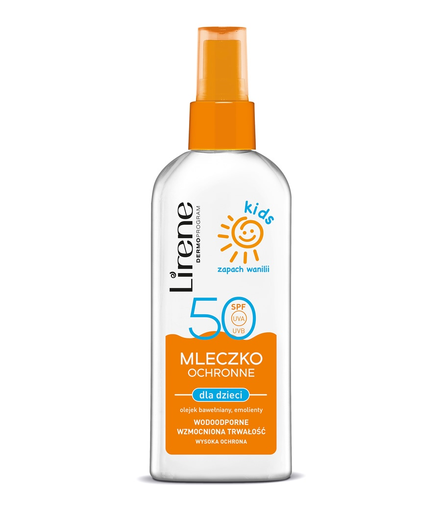 SUN PROTECTION body milk for kids SPF 50 spray