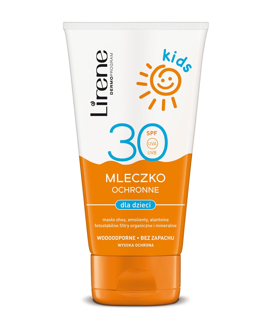 Photostable sun protection milk for kids SPF 30