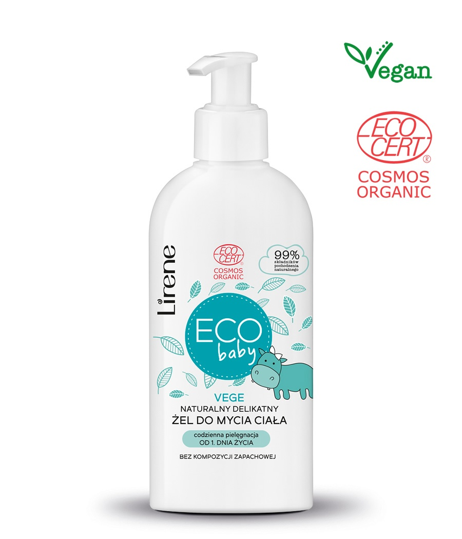 Eco baby NATURAL GENTLE BODY WASH