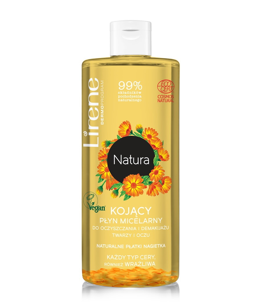 SOOTHING MICELLAR LIQUID FOR FACE AND EYE CLEANING AND MAKE-UP REMOVAL