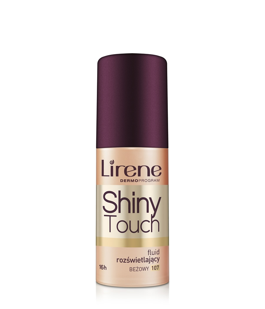 Shiny Touch – Shimmer Fluid Foundation beżowy 107