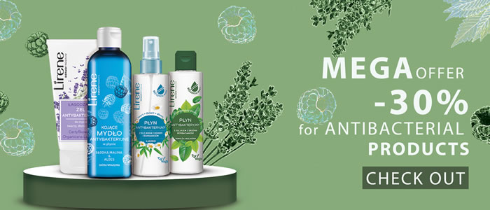 Antibacterial products -30%