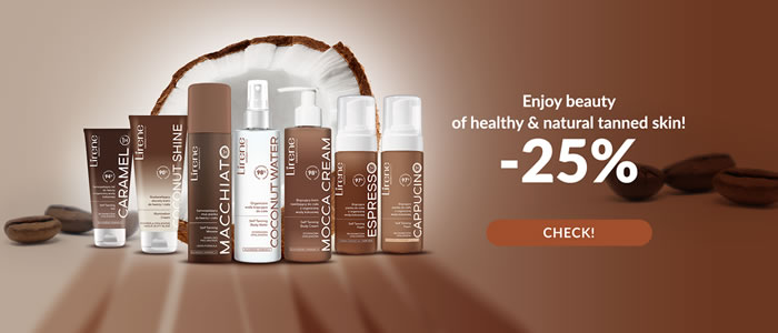 Self-tanners and bronzers -25%